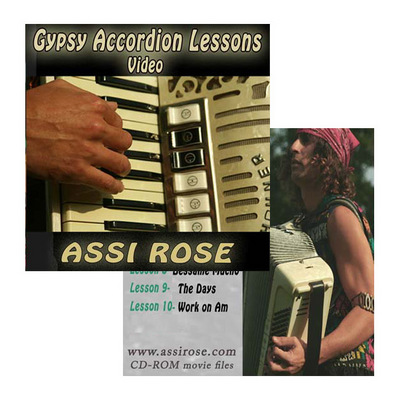 Product picture Gypsy Accordion Lessons for All Levles